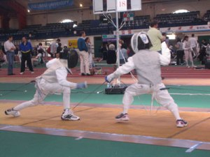 Photo: Little Kids Fencing